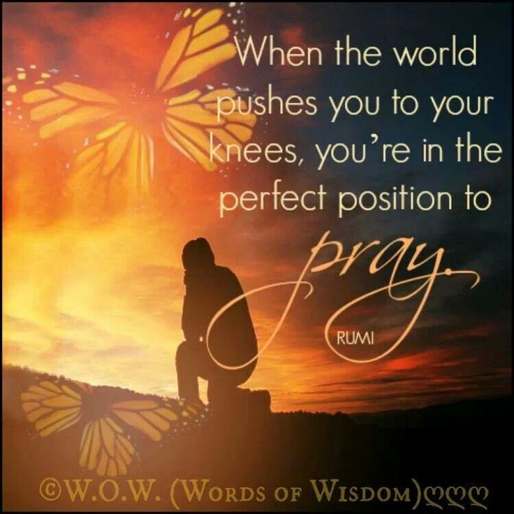 Pray - Rumi
